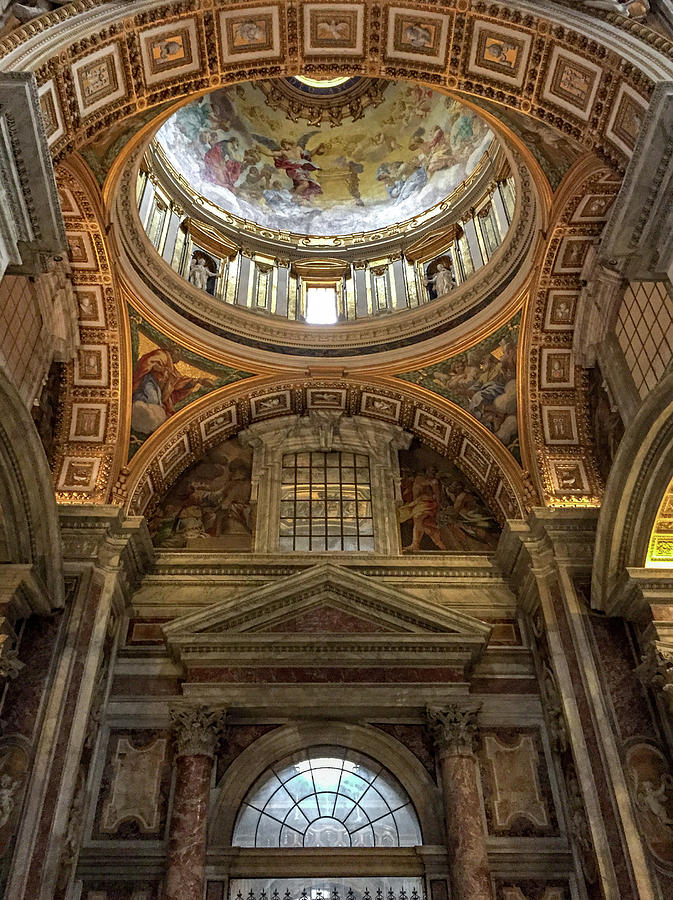 Italy Photograph - Side Dome by Joseph Yarbrough