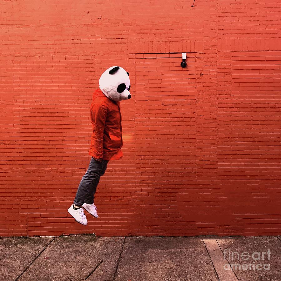 Side Of Person Jumping Against Wall Photograph by Tiayrra Bradley / Eyeem