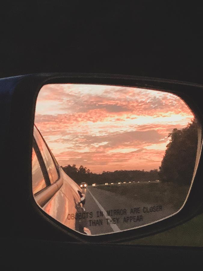 Side View Sunrise  by Kelly Thackeray