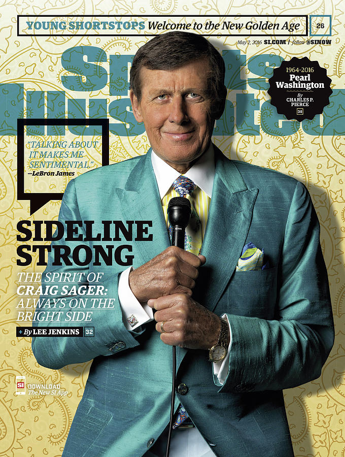 Sideline Strong The Spirit Of Craig Sager Sports Illustrated Cover Photograph by Sports Illustrated