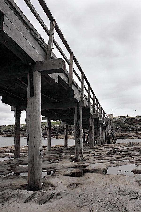 Sideview Bare Island Footbridge by Miroslava Jurcik