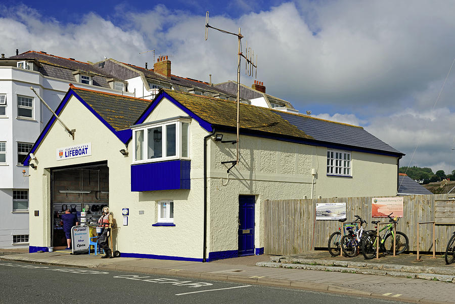 Sidmouth Lifeboat Station by Rod Johnson