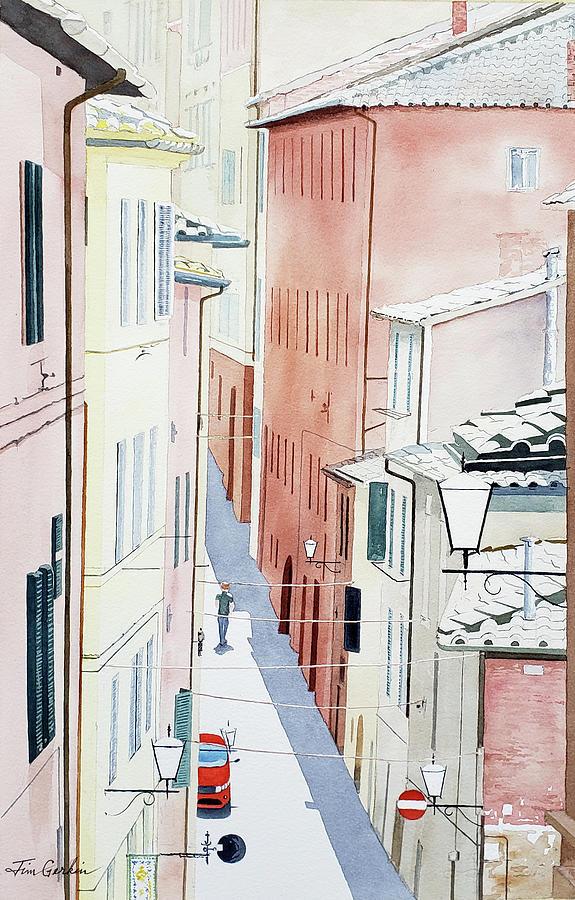Siena Street by Jim Gerkin