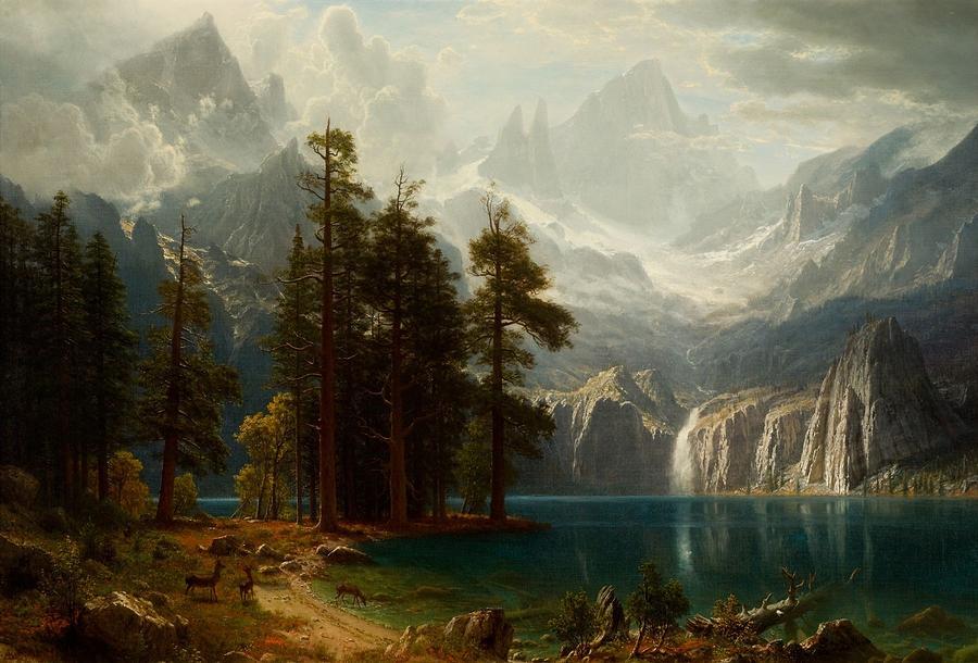 Sierra Nevada Painting - Sierra Nevada  by MotionAge Designs