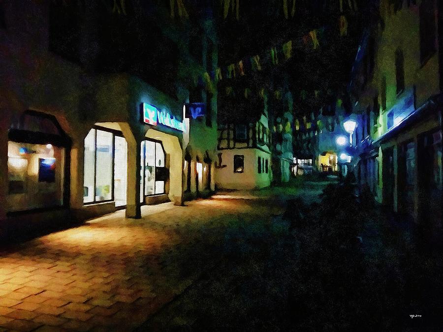 Sigmaringen bei Nacht by Wolfgang Schweizer