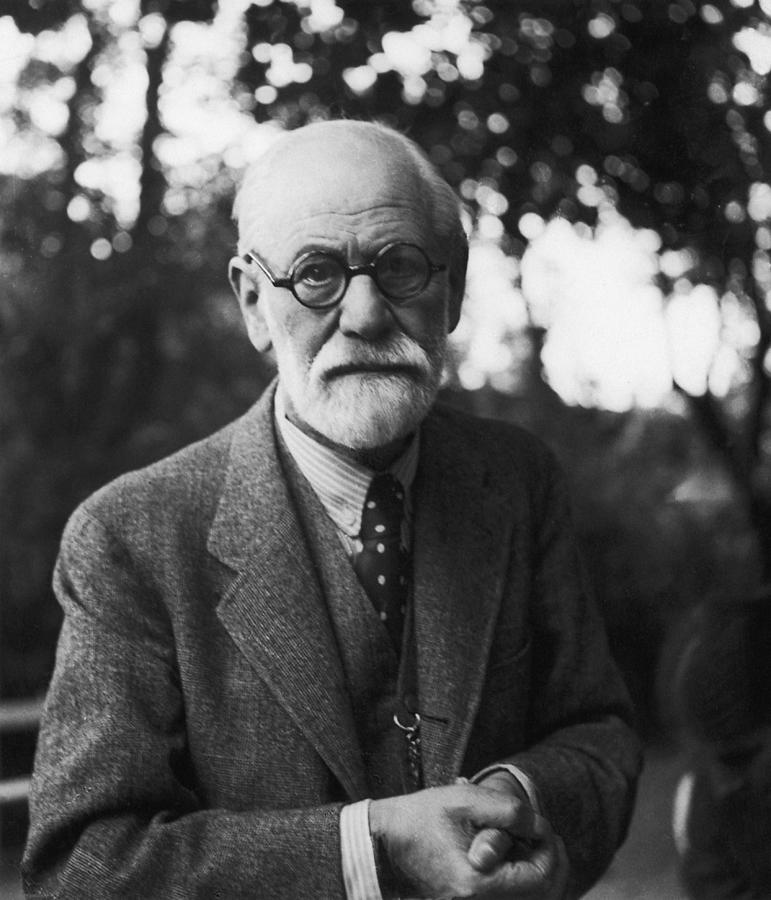 Sigmund Freud Photograph by Hans Casparius