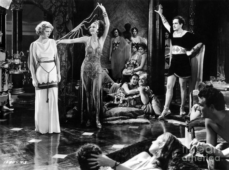 Sign Of The Cross Photograph - Sign of the Cross - 1932 - Elissa Landi - Joyzelle Joyner - Fredric March by Sad Hill - Bizarre Los Angeles Archive