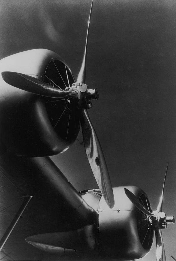 Sikorsky Variable-pitch Propellors Which Photograph by Margaret Bourke-white