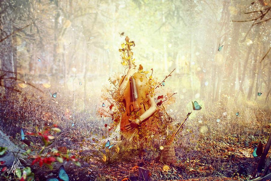 Surreal Digital Art - Silence by Mario Sanchez Nevado