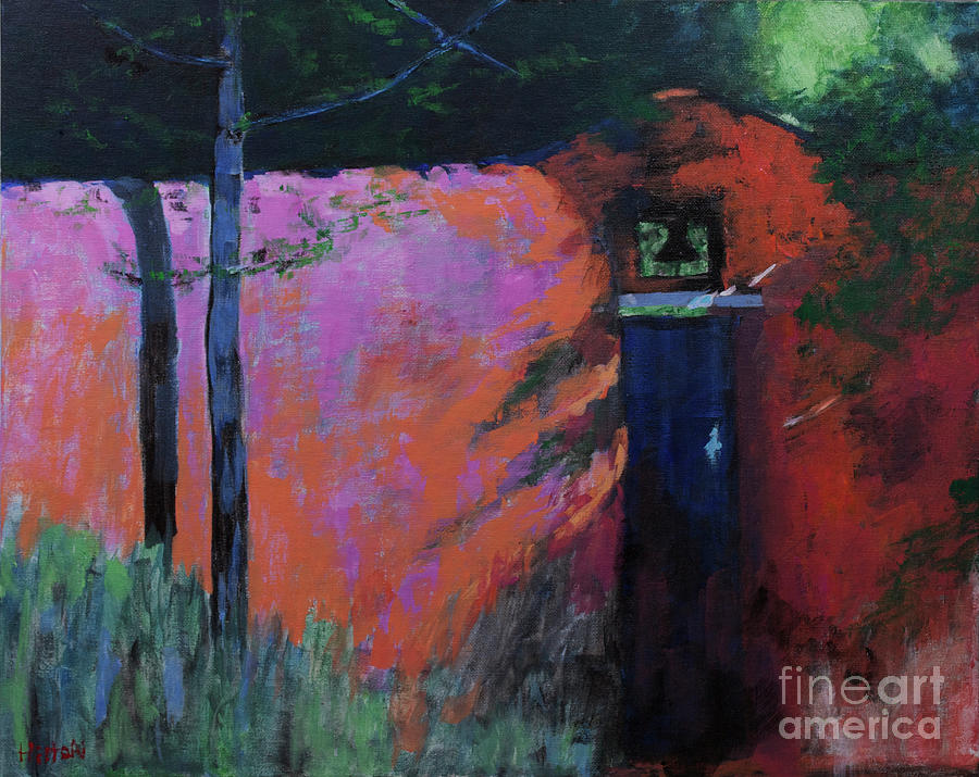 Contemporary Painting - Silent Bell by Hilton McLaurin