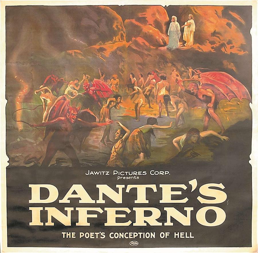 Dante/'s Inferno Poster////Dante/'s Inferno Movie Poster////Movie Poster////Poster Repri