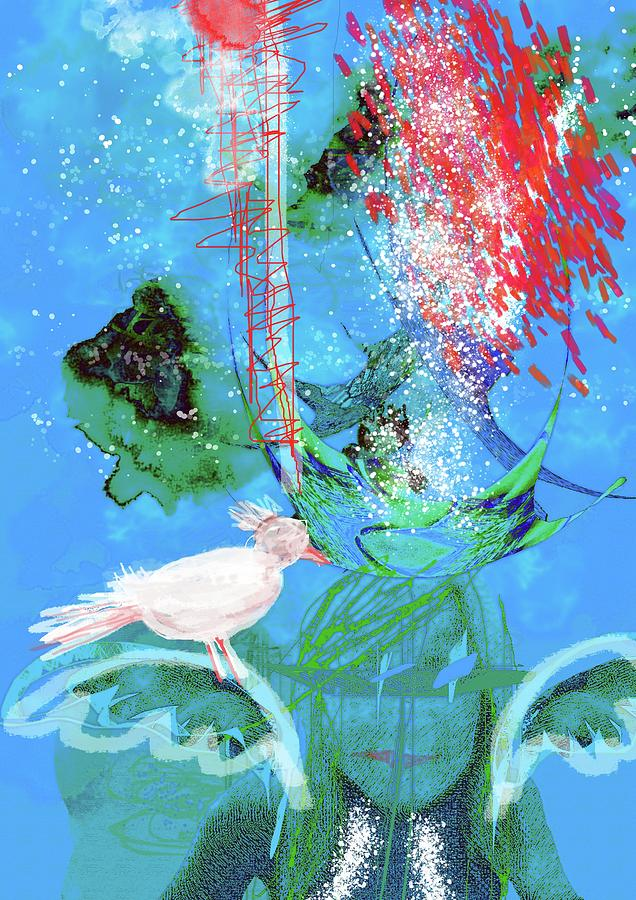 Silent Language Digital Art