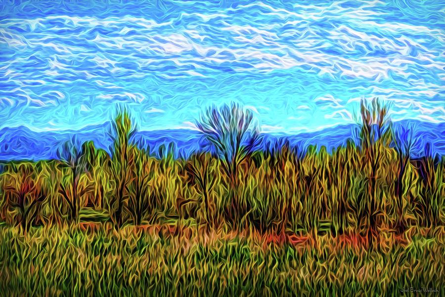 Silent Meadow Dancing by Joel Bruce Wallach