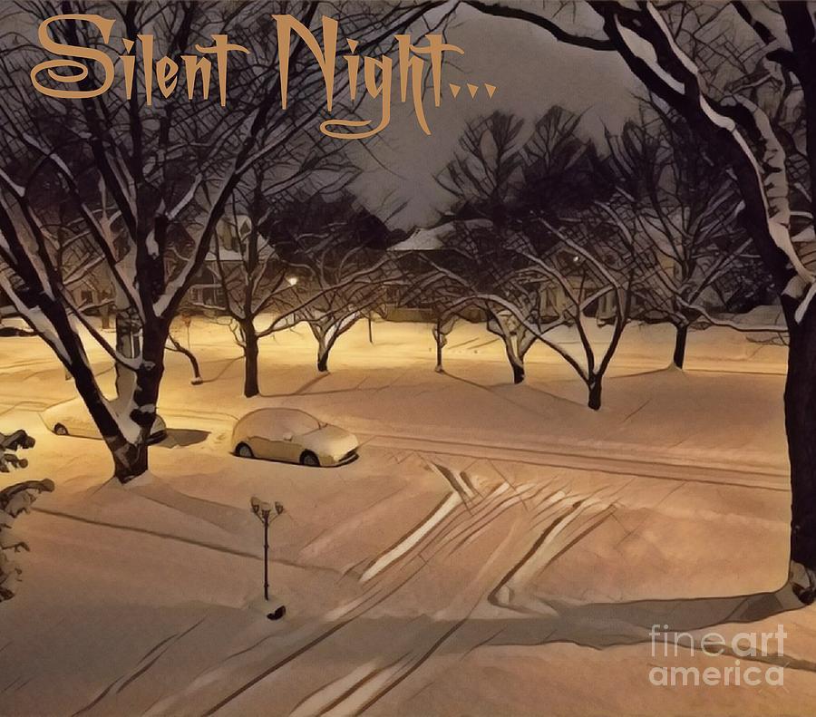 Silent Night by Jodie Marie Anne Richardson Traugott          aka jm-ART