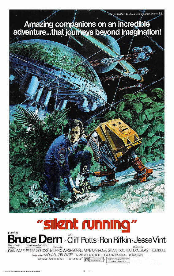 Silent Running Mixed Media - Silent Running 1972 by Kultur Arts Studios