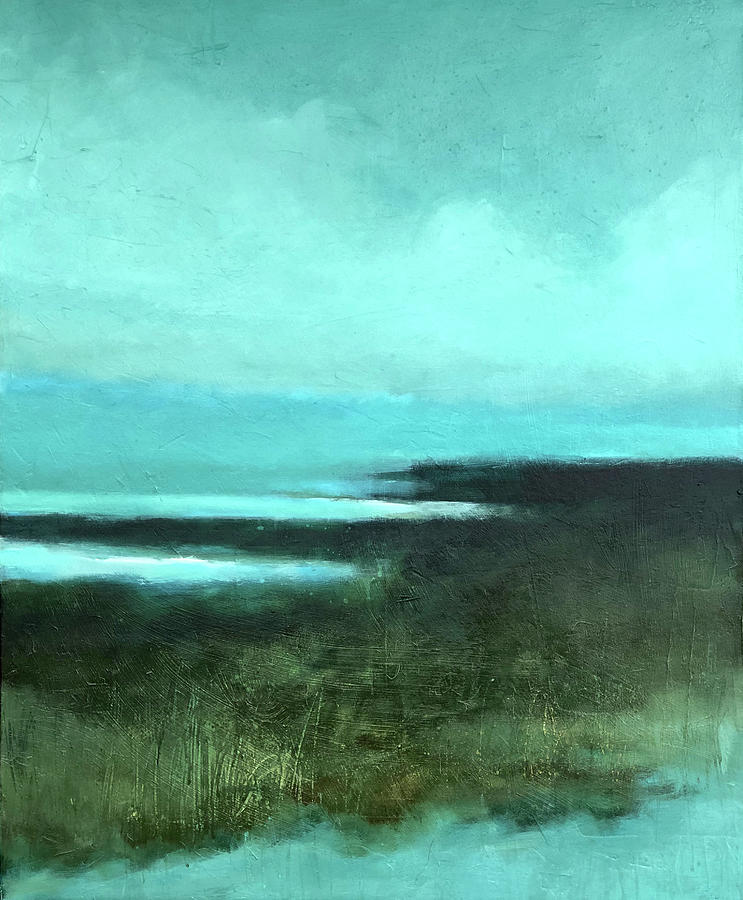 Landscape Painting Painting - Silent Sea by Filomena Booth