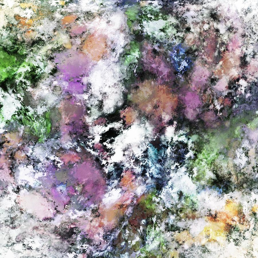 Pale Digital Art - Silent Surface by Keith Mills