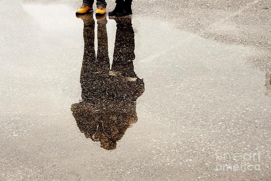 Love Photograph - Silhouette by Esin Deniz