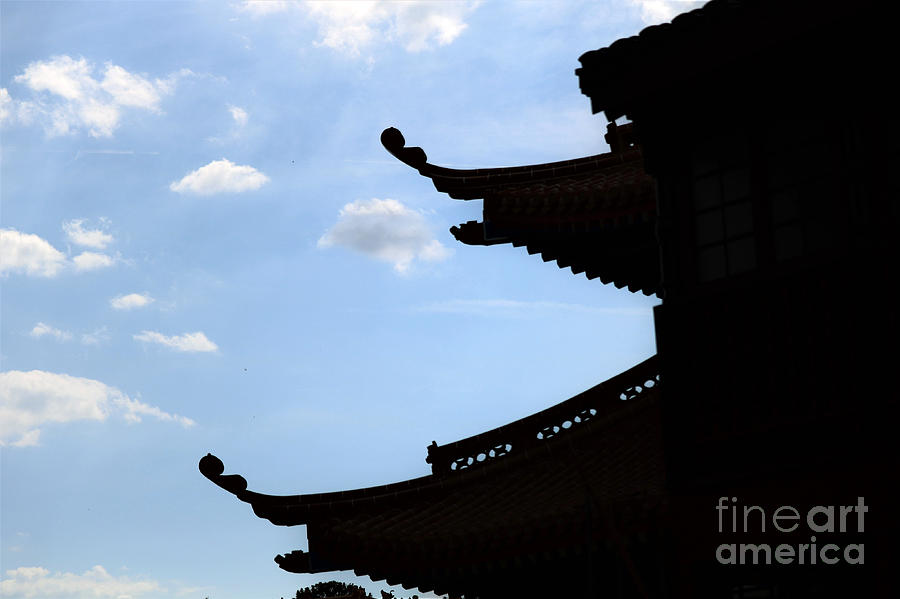 Silhouette Of The Orient Photograph