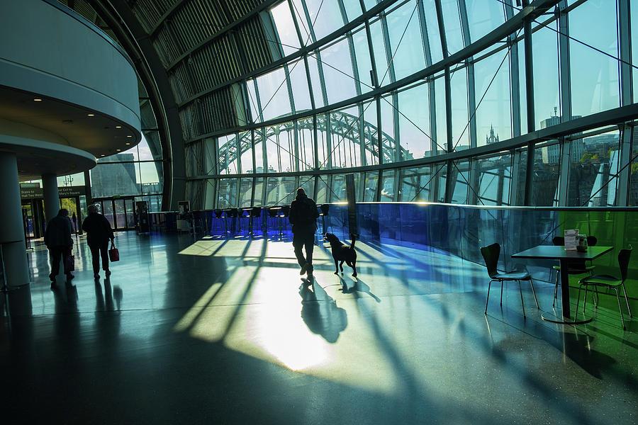 Silhouettes in the Sage Gateshead. by IORDANIS PALLIKARAS