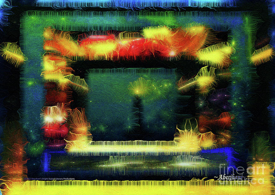 Lighthouse Digital Art - Silk-featherbrush Number 4 - All-night Vigil At The Lighthouse Blues Club by Aberjhani