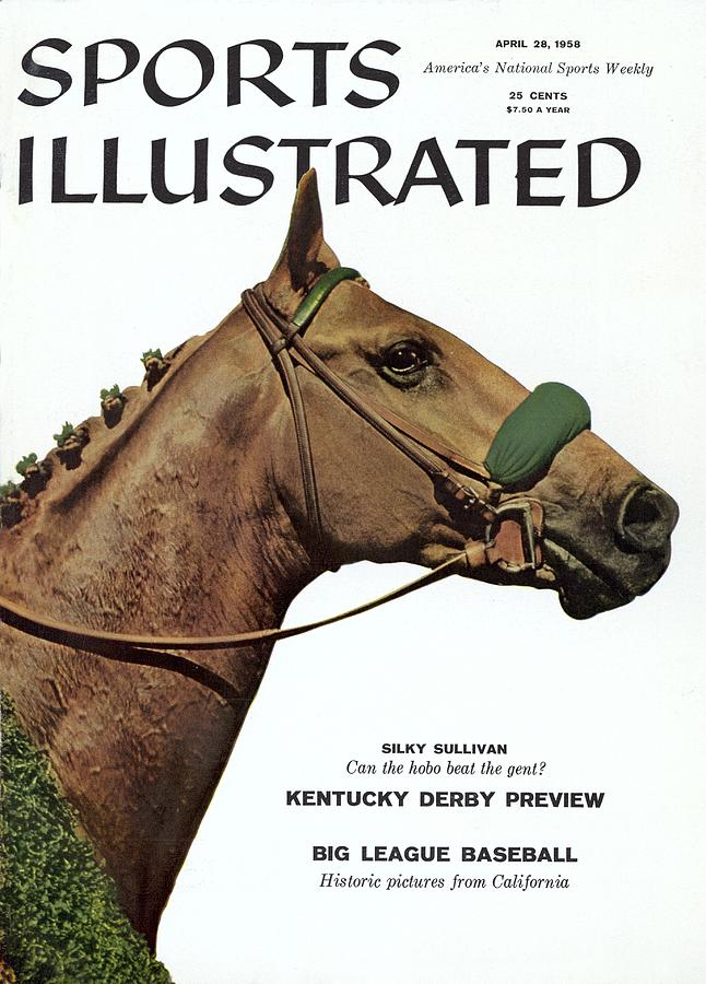 Silky Sullivan, Horse Racing Sports Illustrated Cover Photograph by Sports Illustrated