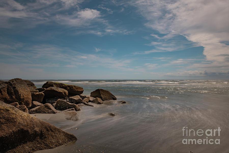 Silky Waters - Folly Beach by Dale Powell