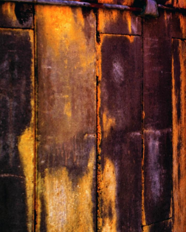 Silo Abstract 2 by Jerry Sodorff