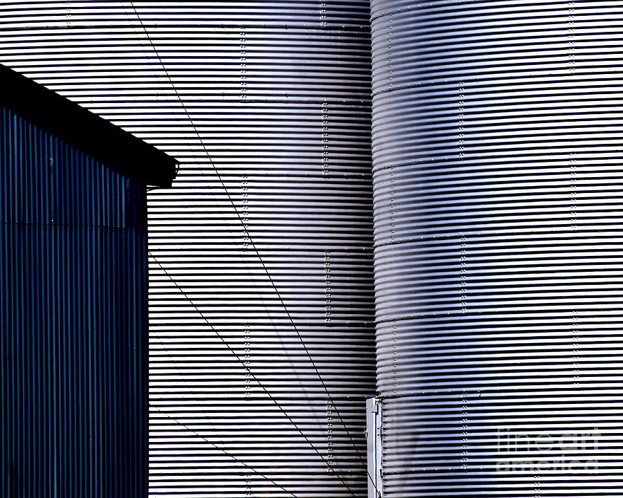 Silo Door by Guntis Lauzums