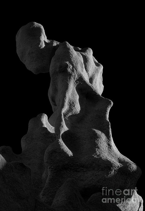 Fantasy Canyon Photograph - Siltstone Gollum by Mike Dawson