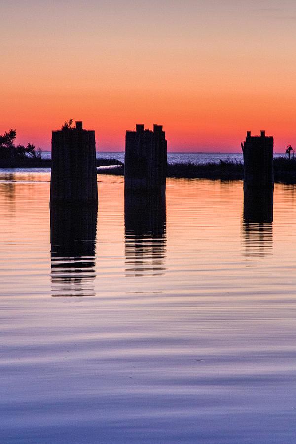 Silver Lake Sunset 2010-10 19 by Jim Dollar