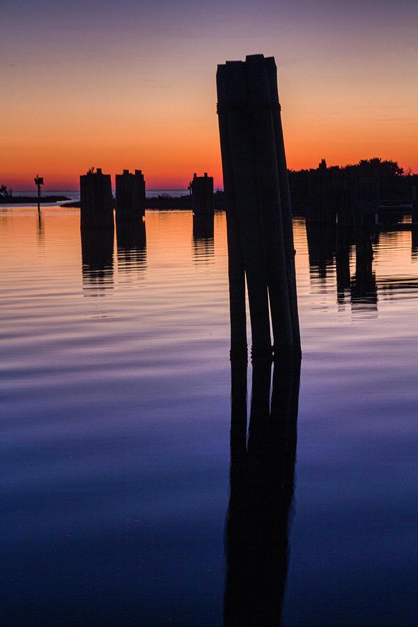Silver Lake Sunset 2010-10 20 by Jim Dollar