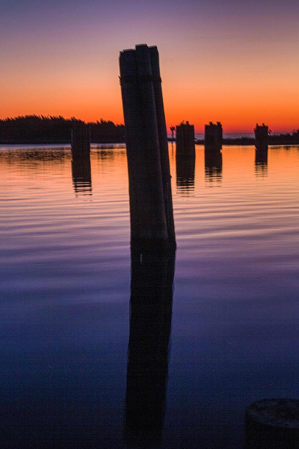 Silver Lake Sunset 2010-10 21 by Jim Dollar