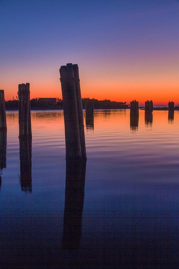 Silver Lake Sunset 2010-10 22 by Jim Dollar