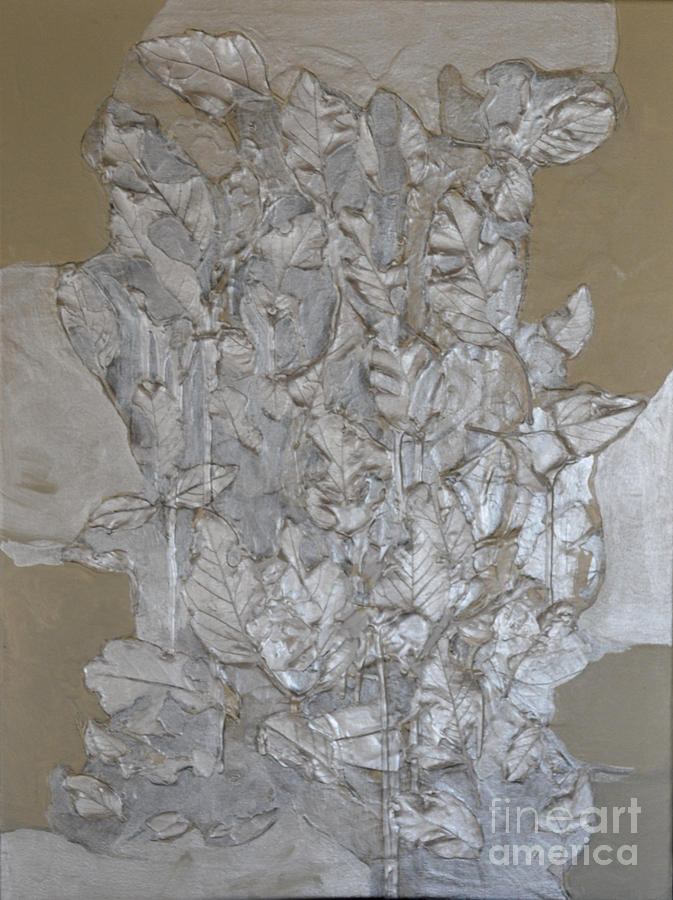 Silver Leaves by Diane montana Jansson