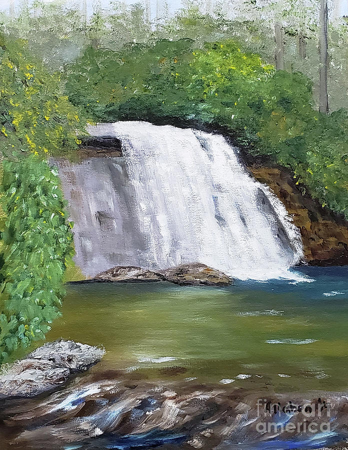 Silver Run Falls by Stanton Allaben
