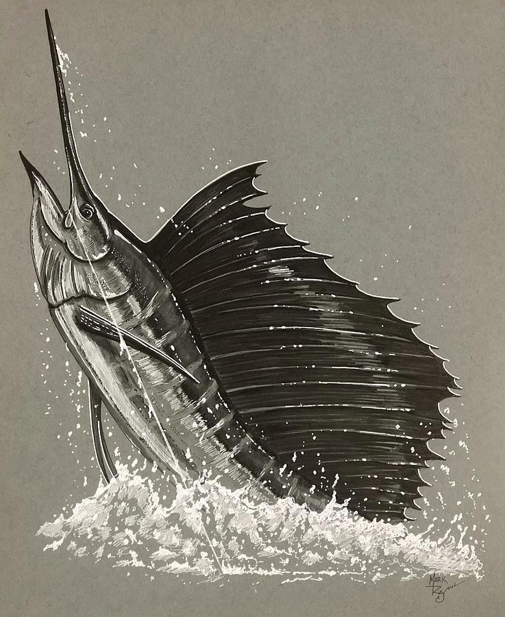 Silver Sailfish by Mark Ray