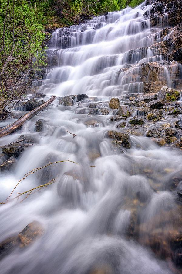 Silver Staircase Falls by Rick Berk