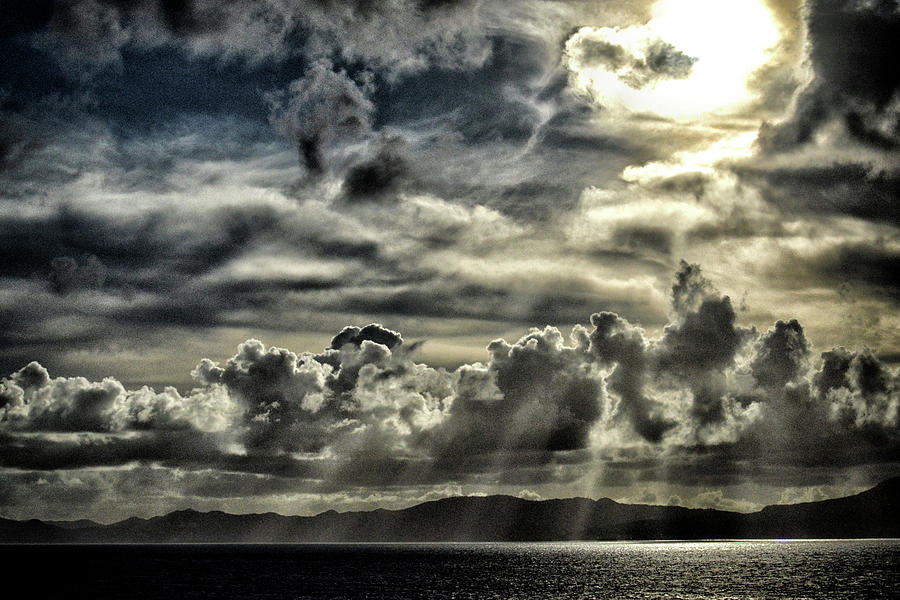 Silver Sun Over St. Lucia by Bill Swartwout Fine Art Photography