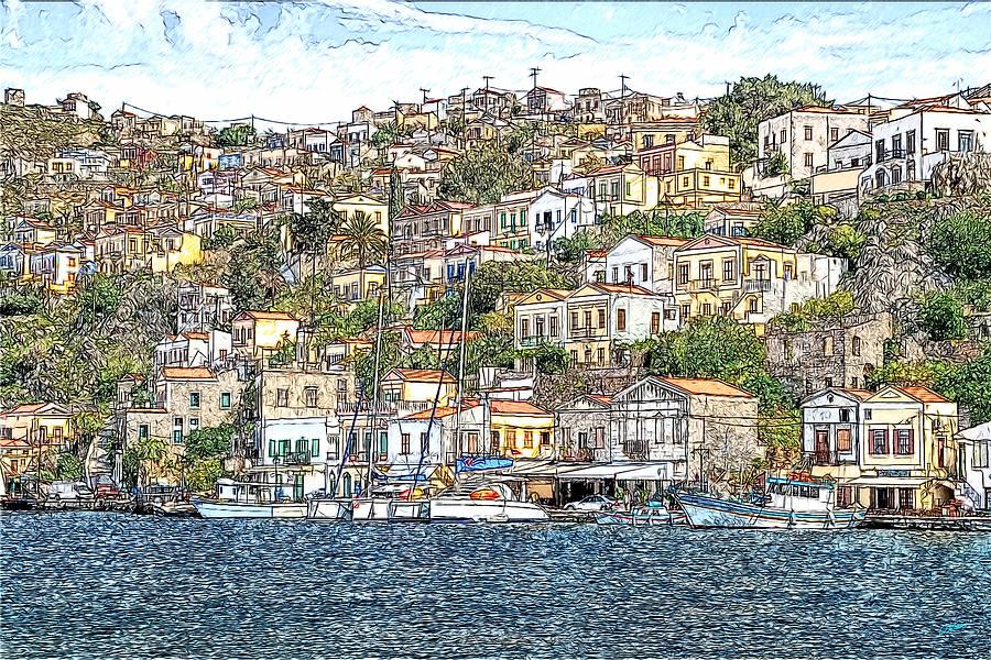 Simi Greece DWP1005818 by Dean Wittle