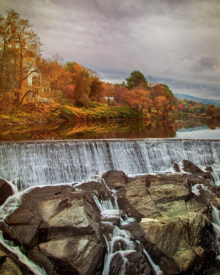 Simon Pearce Mill - Quechee River by Joann Vitali