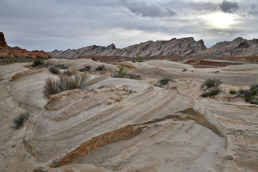 Simple Eroded Beauty of the San Rafael Desert by Ray Mathis