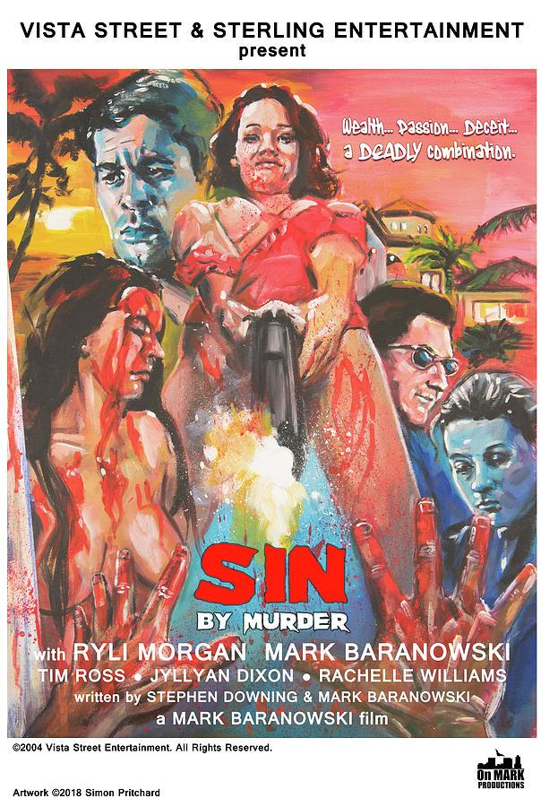 Sin by Murder poster C by Mark Baranowski