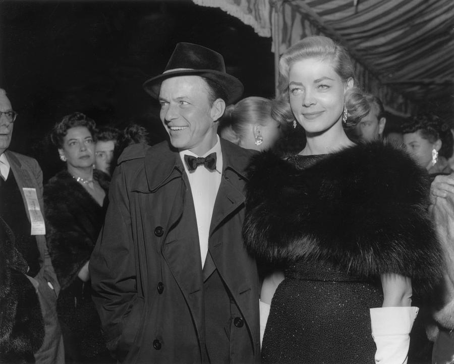 Sinatra & Bacall Photograph by American Stock Archive