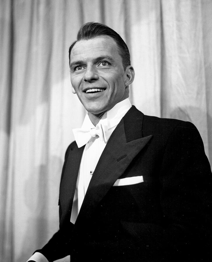 Sinatra At The Academy Awards Photograph by Michael Ochs Archives