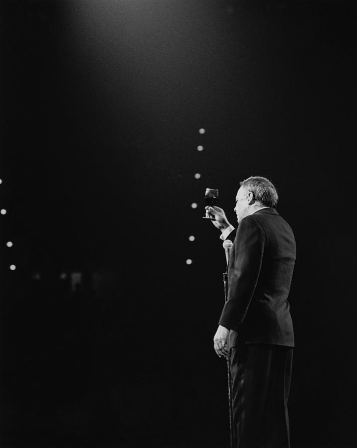 Sinatra On Stage Photograph by David Redfern