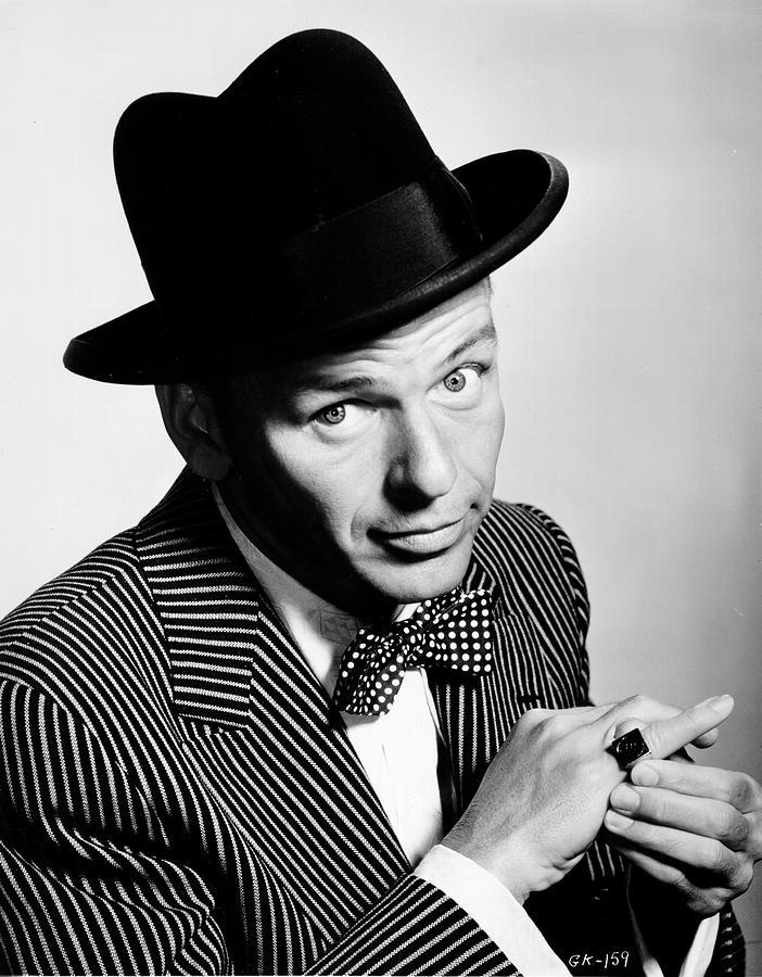 Sinatra Portrait Photograph by Michael Ochs Archives