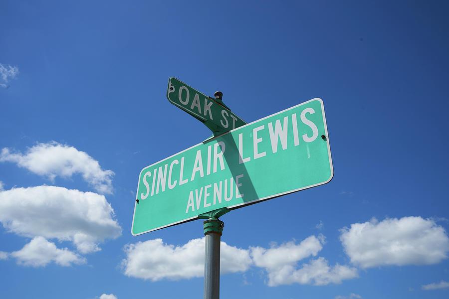 Sinclair Lewis Avenue in Sauk Centre, MN by Erik Burg