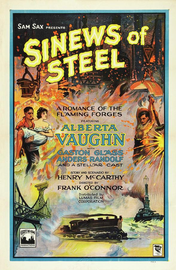 Sinews of Steel  by Lumas Film Corporation