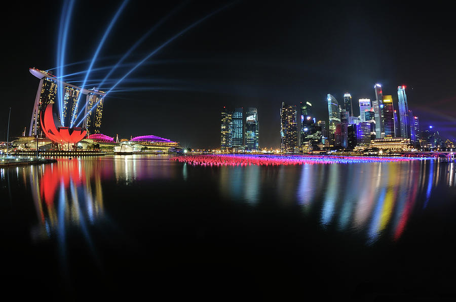 Singapore Countdown Photograph by Fiftymm99